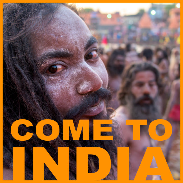 Come to India!