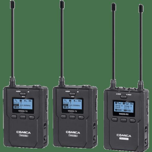 Comica CVM-WM200 Dual Wireless Lav Mic