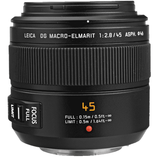 Panasonic Leica Macro 45mm f/2.8