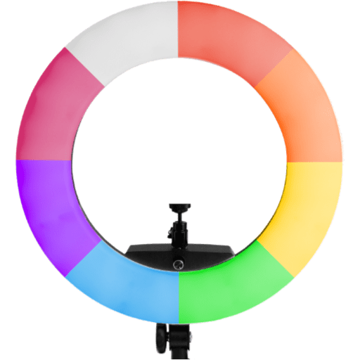 Prismatic RGB LED Ring Light