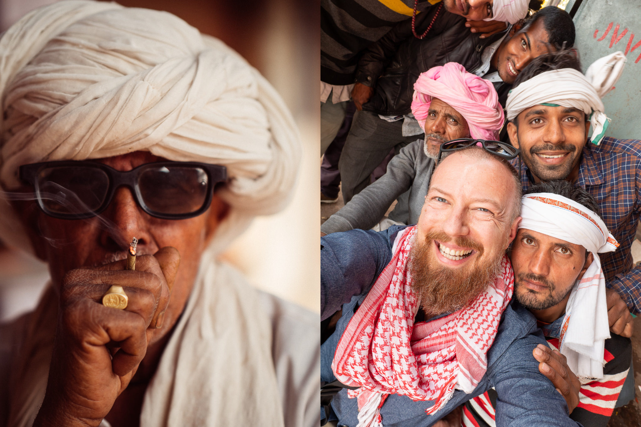 Some of the many friendly faces of Jaipur