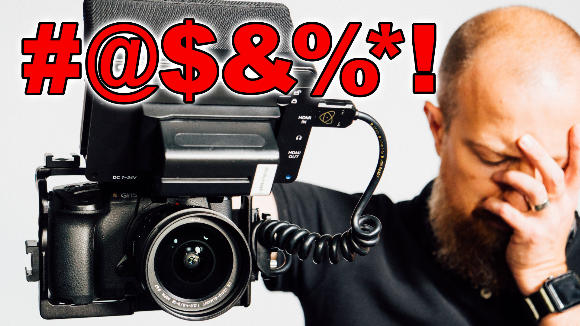 Do NOT Do This With Your GH5!! ▶︎ One BIG, FAT, Hairy Mistake