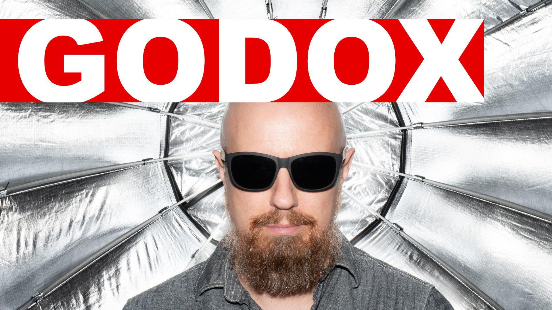 Godox Studio Flash QT1200 II & P120L Parabolic Softbox