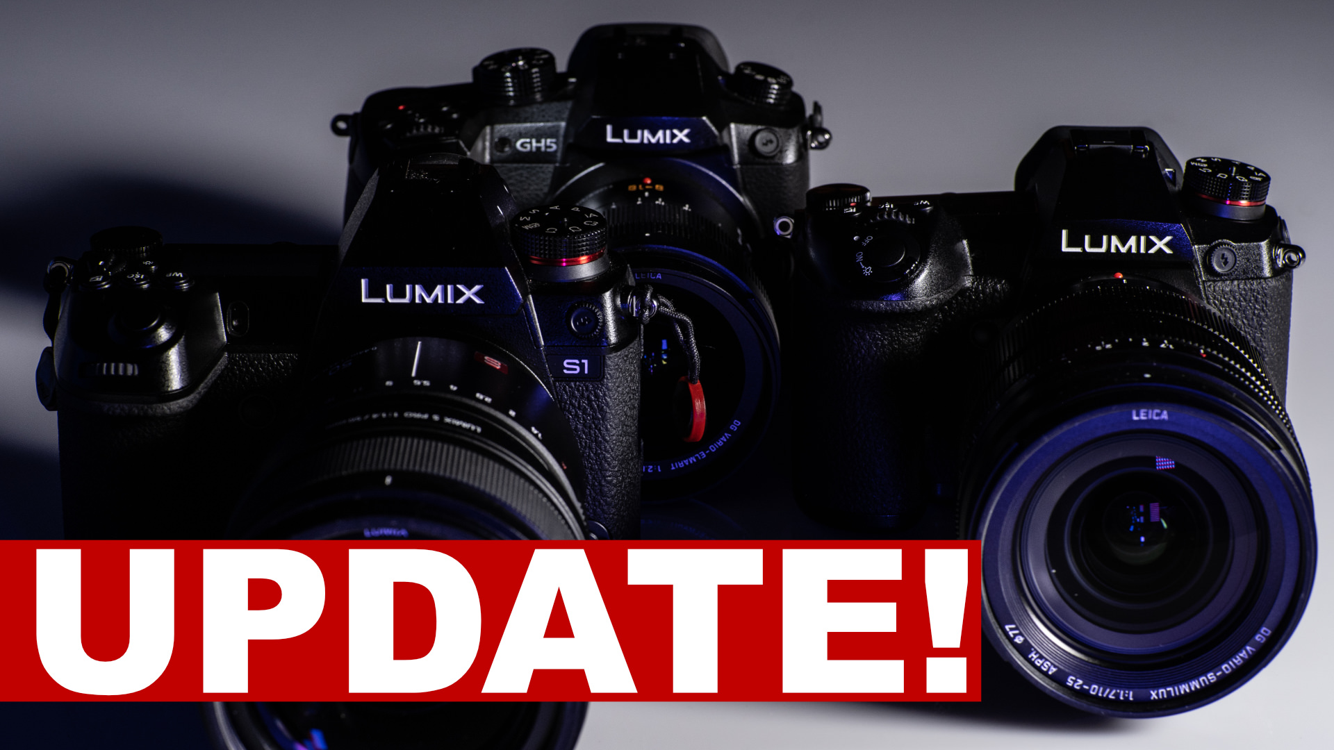 How to Firmware Update LUMIX G9 (and V-Log L), GH5, GH5S, S1, S1R