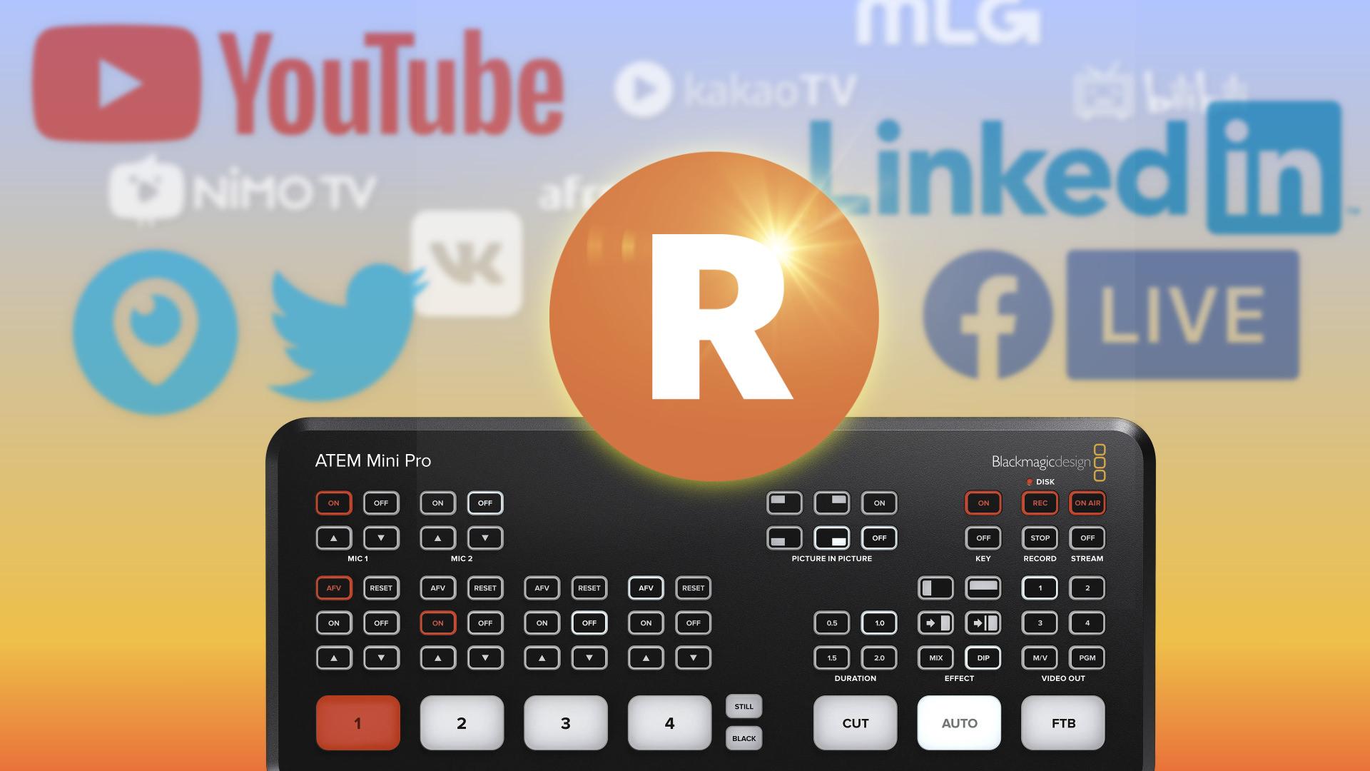 Stream Anywhere With Atem Mini Pro Featuring Restream