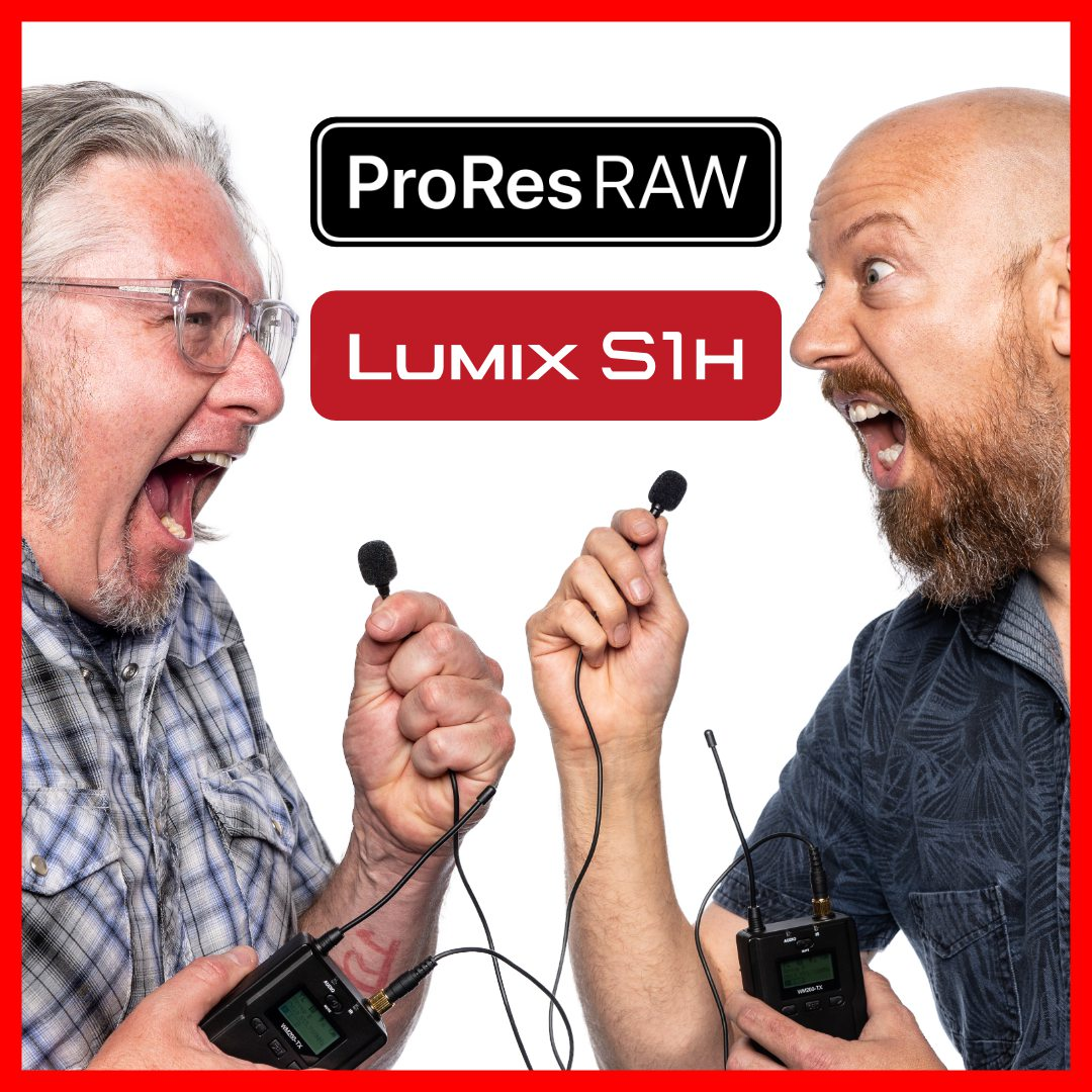 ATEM Mini, LUMIX S1H ProRes RAW, and more… Shot Talk Podcast, S01 Ep15