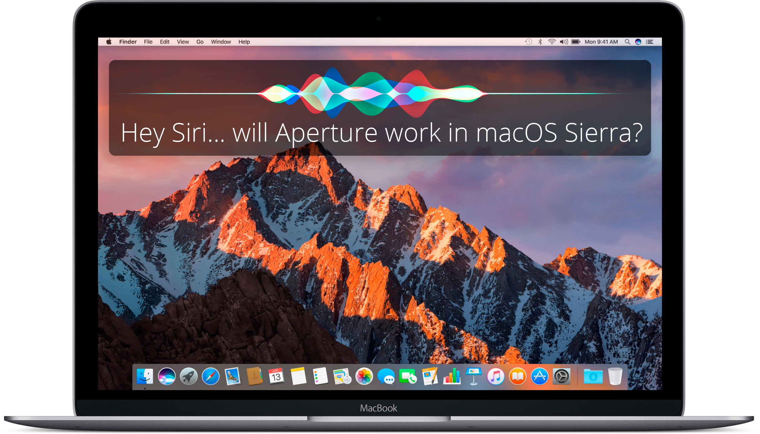Hey Siri… will Aperture work in macOS Sierra?