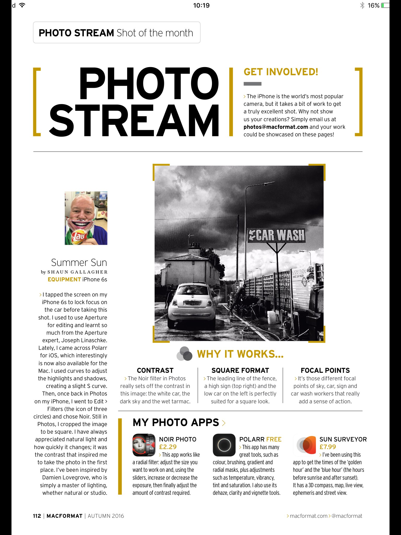MacFormat UK Photo Stream Shot of the Month page 1