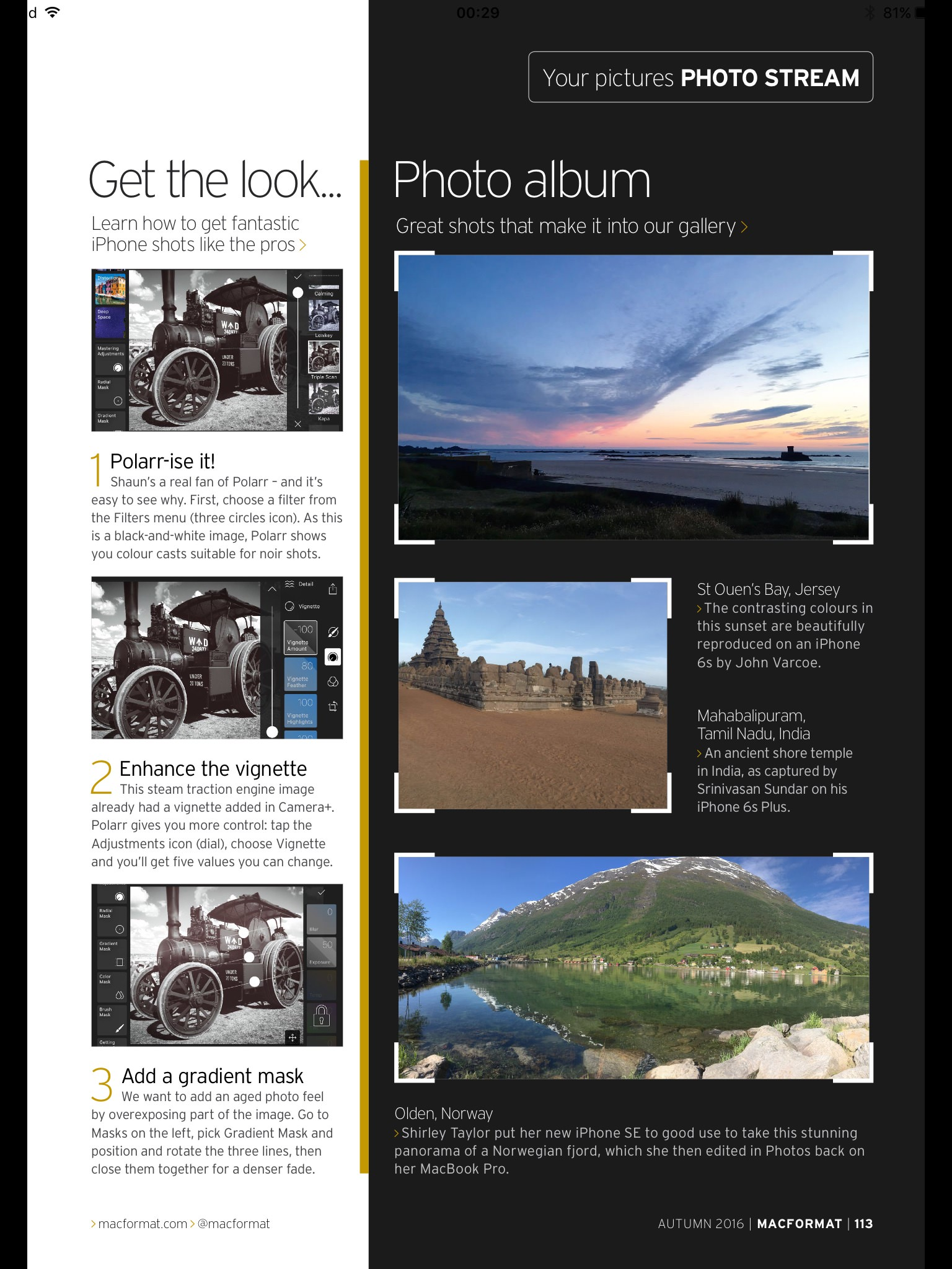 MacFormat UK Photo Stream Shot of the Month page 2