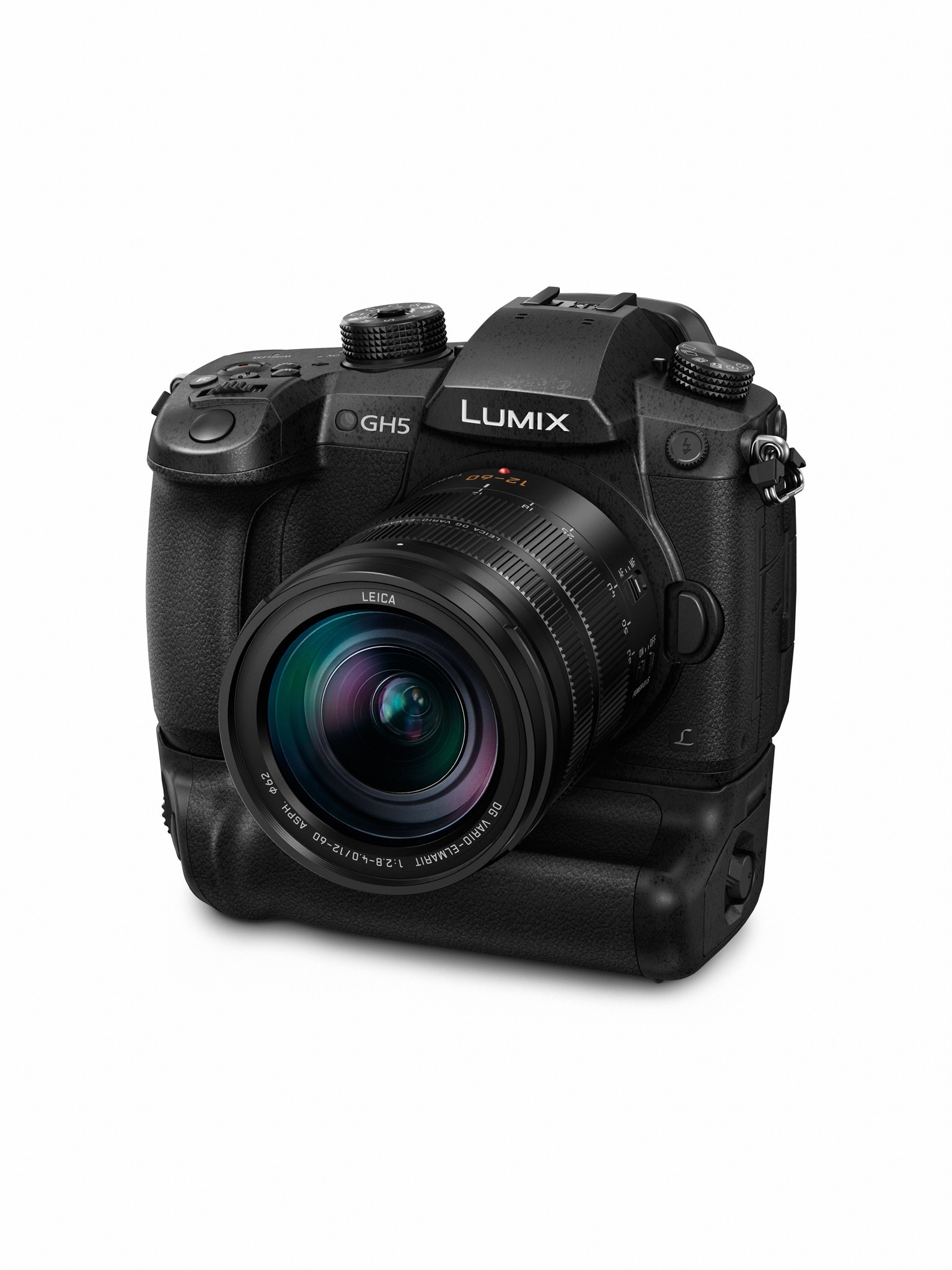 LUMIX GH5 with the BGGH5 Battery Grip