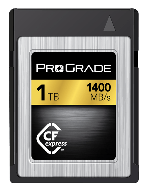 ProGrade CFast Card, upgradable from XQD