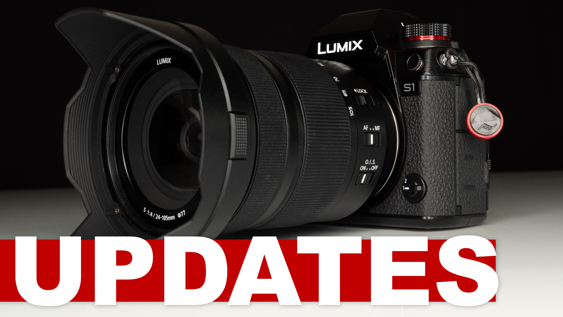 Updates for the Panasonic LUMIX S1 and S1R and 24-105mm f/4 and  70-200 f/4 lenses