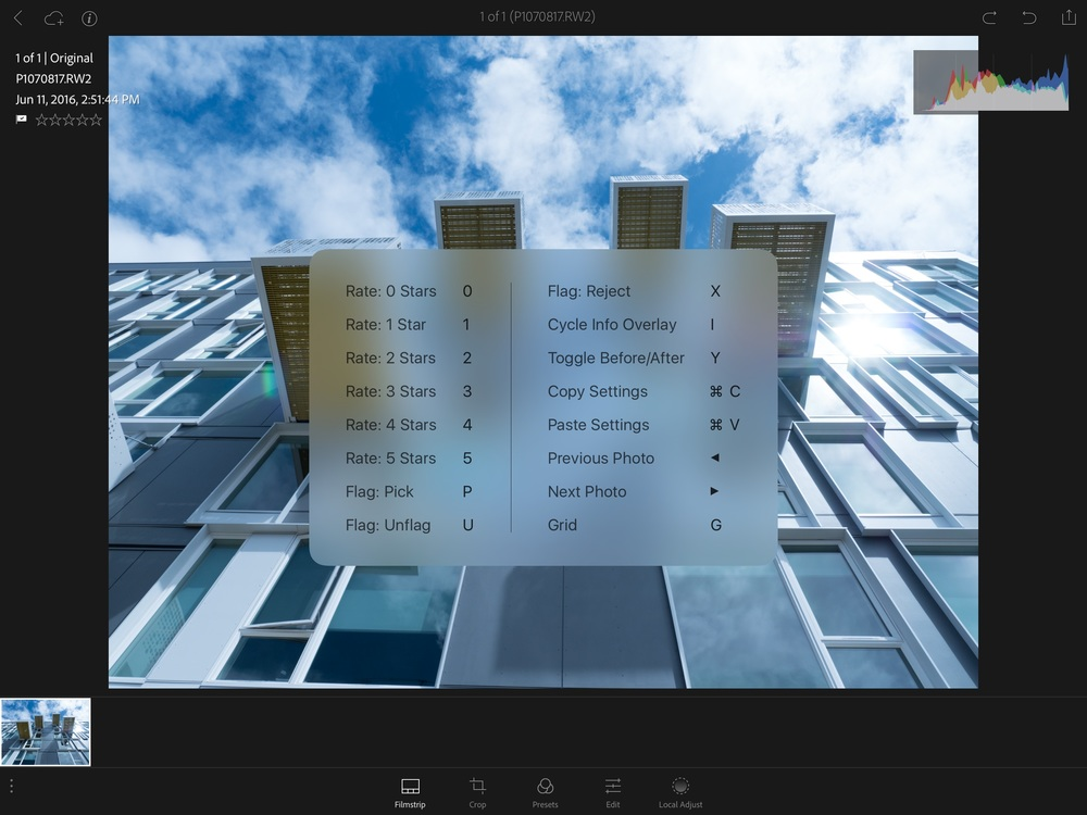 Adobe adds RAW Support, Local Adujstments and Keyboard